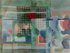 abstrakt-mit-rotem-quadrat