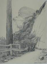 weg-in-der-tremosine-zeichnung-1990